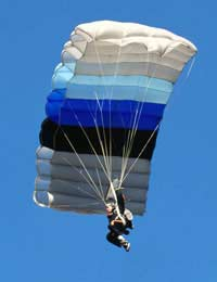 Coping With an Emergency Whilst Paragliding